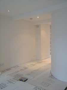 Plastering and decorating finished