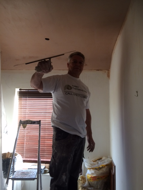 Trevor the Surrey Plasterer